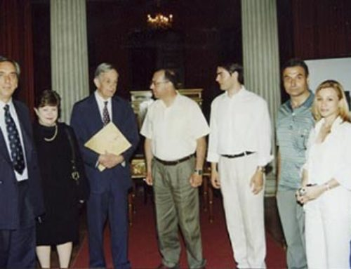 John Nash in Athens – Honoris Causa and speech at the Old Parliament